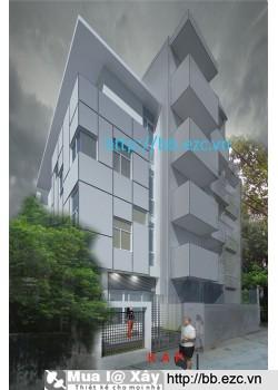Nhà ống (nhà phố) 6x13.5m (3,5 tầng - 4 phòng ngủ - 4 thế hệ chung sống)