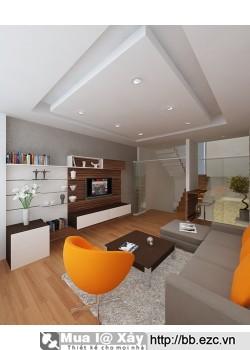 Nội thất nhà ống  / nhà phố 4x15m (4 tầng - 4 phòng ngủ)