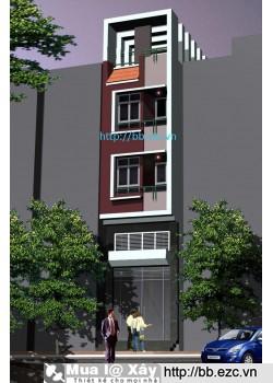 Nhà ống (nhà phố) 3.5x7.5m (5 tầng - 2 phòng ngủ - tầng 1 kinh doanh)