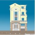 Biệt thự / nhà vườn 10x15m trên đất 13x22m (3.5 tầng - 3 phòng ngủ chính)
