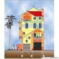 Biệt thự / nhà vườn 9x10.5m (4 tầng - 4 phòng ngủ)