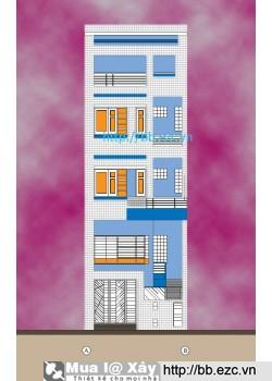 Nhà phố ven đê 6x10m - 5 tầng - 4 phòng ngủ - Tầng 1 kinh doanh