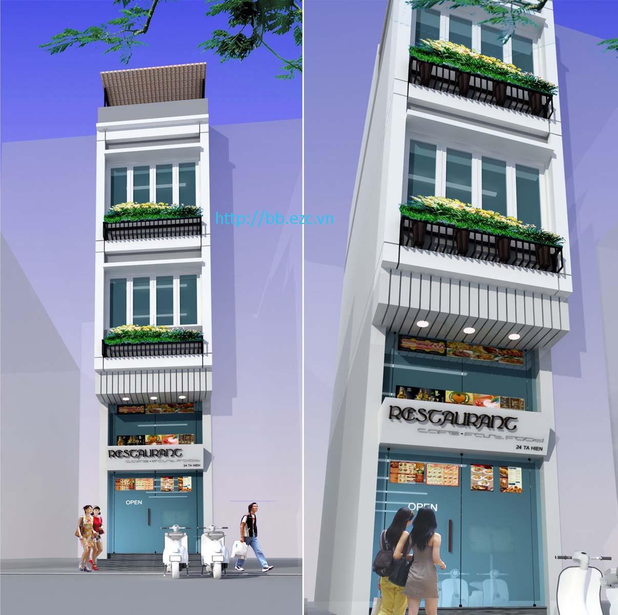 Nhà ống 3x9m có bán hàng ăn trong lòng khu phố cổ Hà Nội